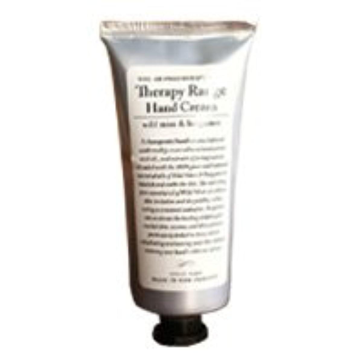 パケット困惑する耐えるTherapy Range(セラピーレンジ) Nourishiing Hand Cream ハンドクリーム ワンサイズ ワイルドミント&ベルガモット