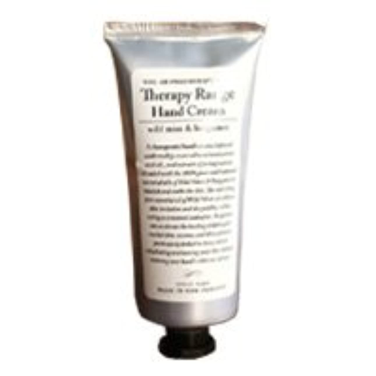 ショップ復活させる自由Therapy Range(セラピーレンジ) Nourishiing Hand Cream ハンドクリーム ワンサイズ ワイルドミント&ベルガモット