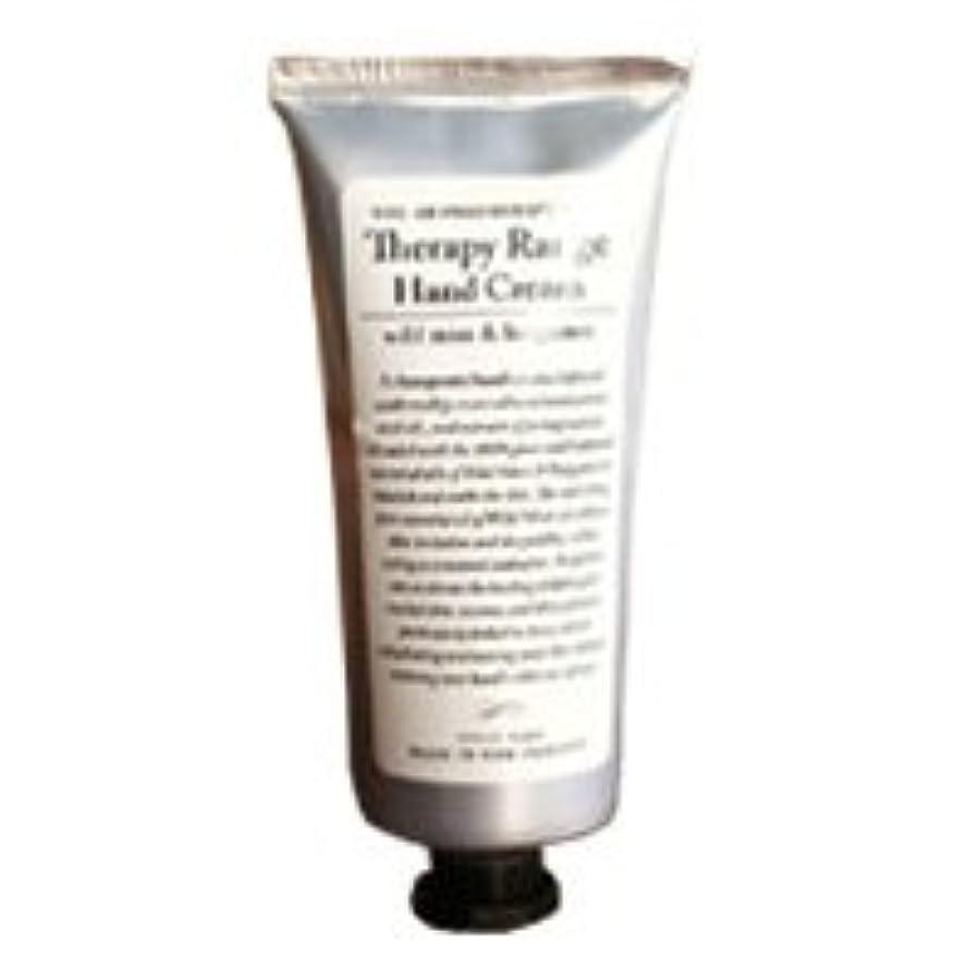 情報反論者走るTherapy Range(セラピーレンジ) Nourishiing Hand Cream ハンドクリーム ワンサイズ ワイルドミント&ベルガモット