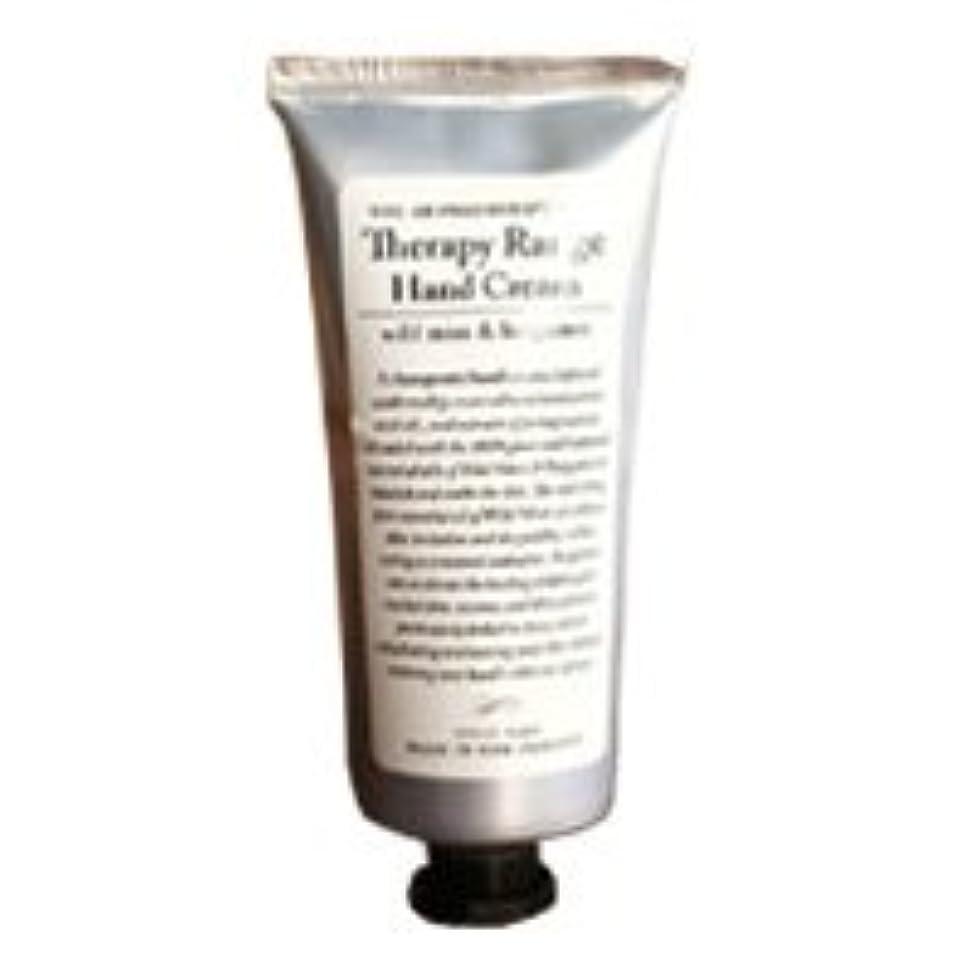 繕う秘密のばかげているTherapy Range(セラピーレンジ) Nourishiing Hand Cream ハンドクリーム ワンサイズ ワイルドミント&ベルガモット