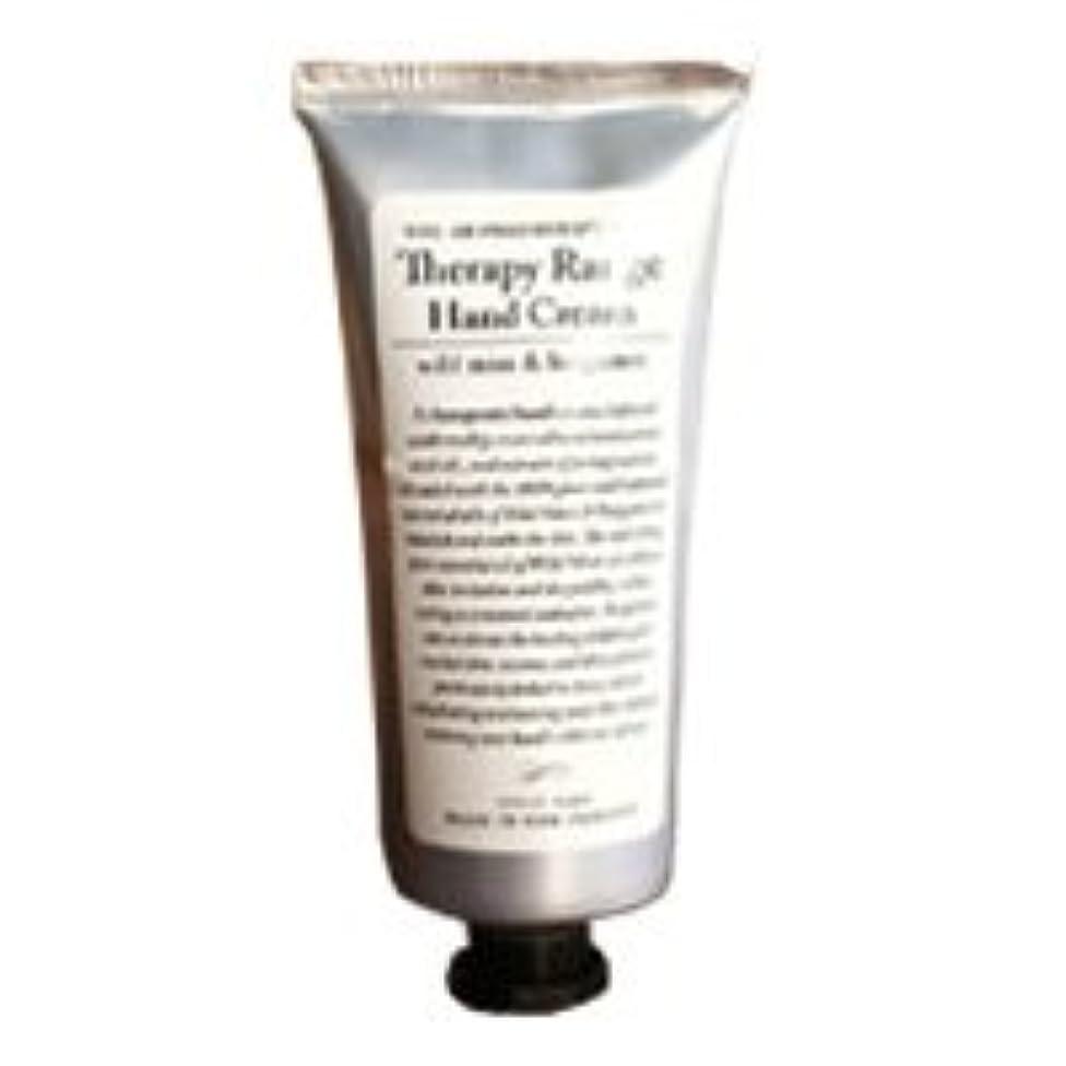 進化する一致白雪姫Therapy Range(セラピーレンジ) Nourishiing Hand Cream ハンドクリーム ワンサイズ ワイルドミント&ベルガモット