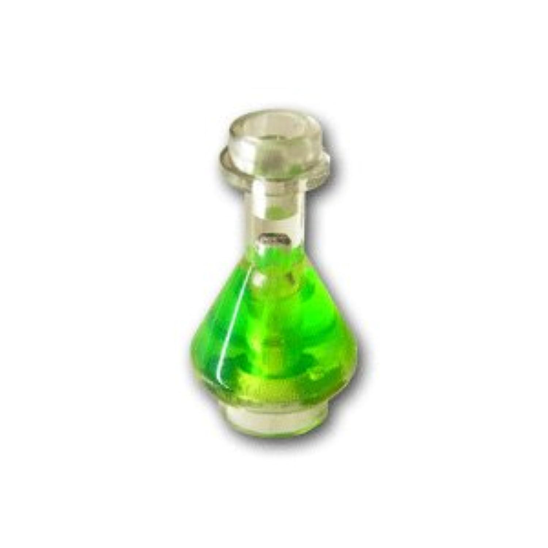 レゴミニフィグパーツ フラスコ トランスブライトグリーン溶液:[Tr,Clear / トランスクリアー] 【並行輸入品】