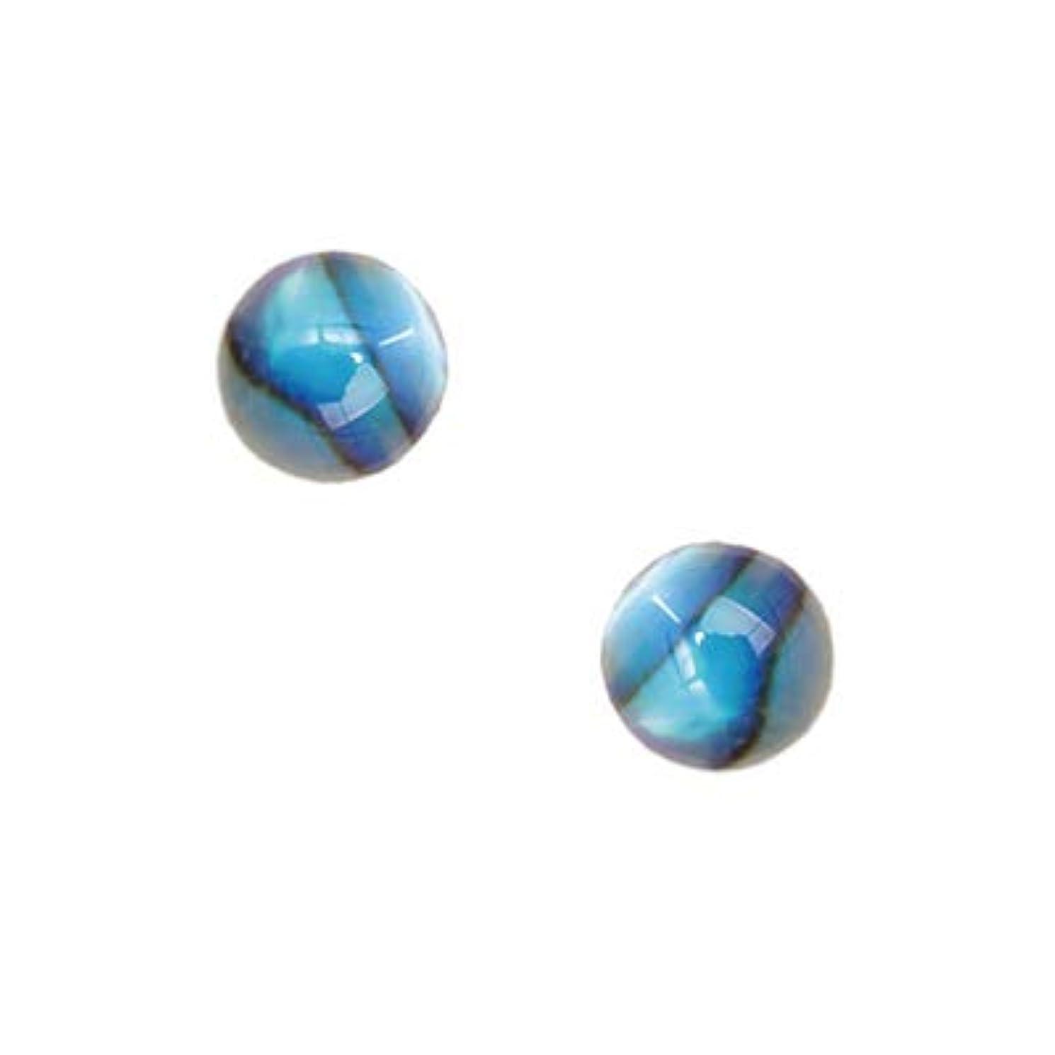連続した連想ウミウシSHAREYDVA シャレドワ シェルパーツ スモールラウンド ブルー 10P