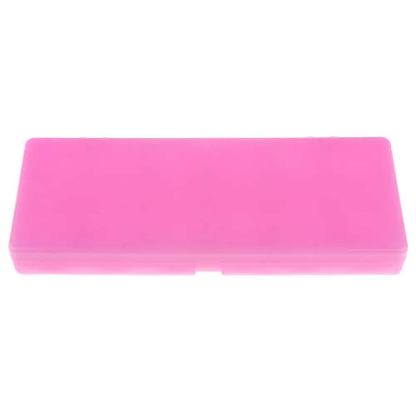 起きる湖固執水彩画/ガッシュ/アクリルオイルペイント用 ネイルアート 化粧品 混合パレット 3色 - ピンク