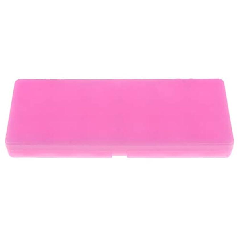 ハイランド休眠無数のP Prettyia 水彩画/ガッシュ/アクリルオイルペイント用 ネイルアート 化粧品 混合パレット 3色 - ピンク