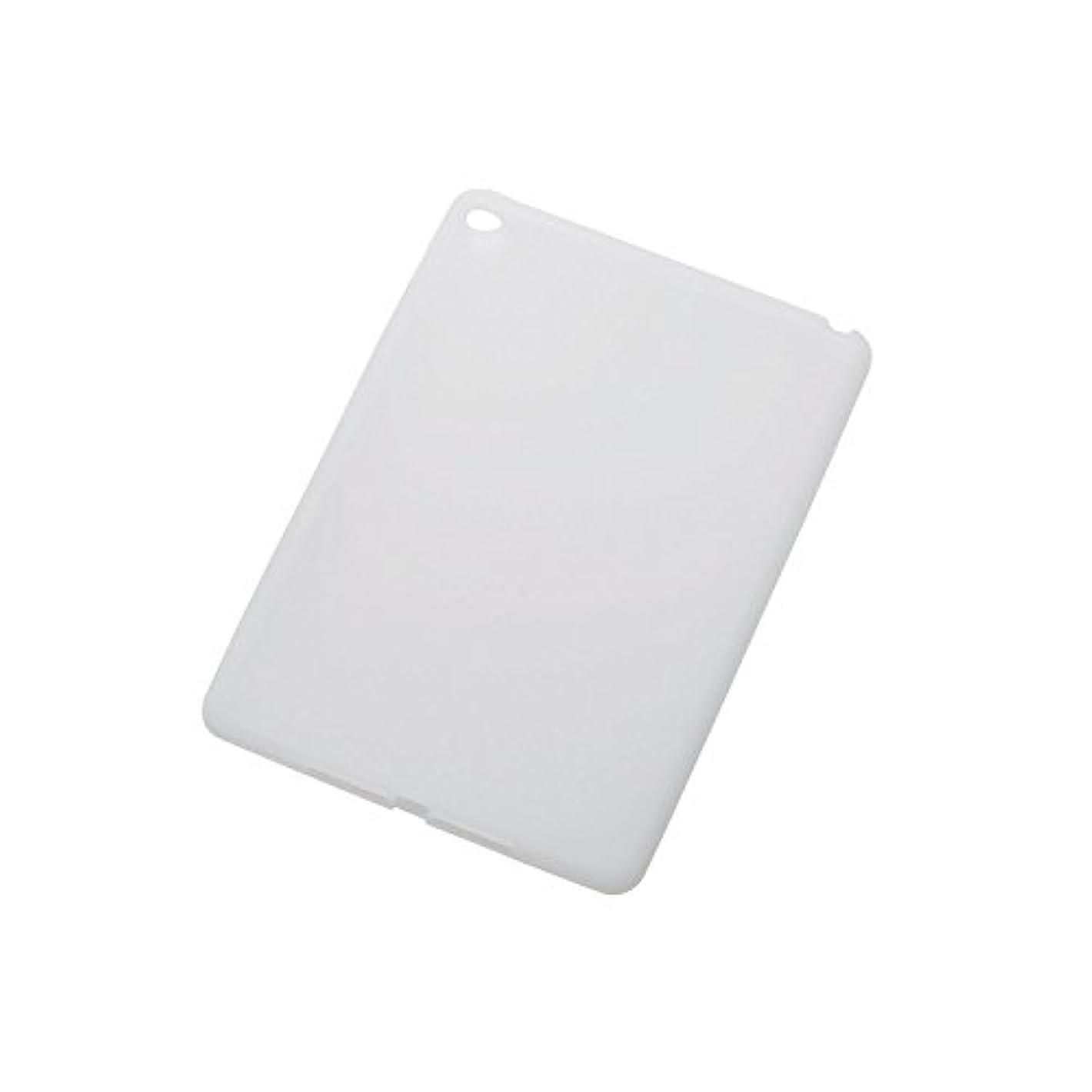 彼自身解凍する、雪解け、霜解け部分的に【2014年モデル】ELECOM iPad Air 2 シリコンケース ホコリを防ぐアンチダストコート クリア TB-A14SCCR