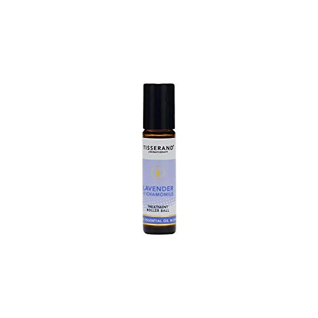 分析花瓶ブラスト[Tisserand] ティスランドアロマラベンダー&カモミール精油ローラーボール10ミリリットル - Tisserand Aromatherapy Lavender & Chamomile Essential Oil...