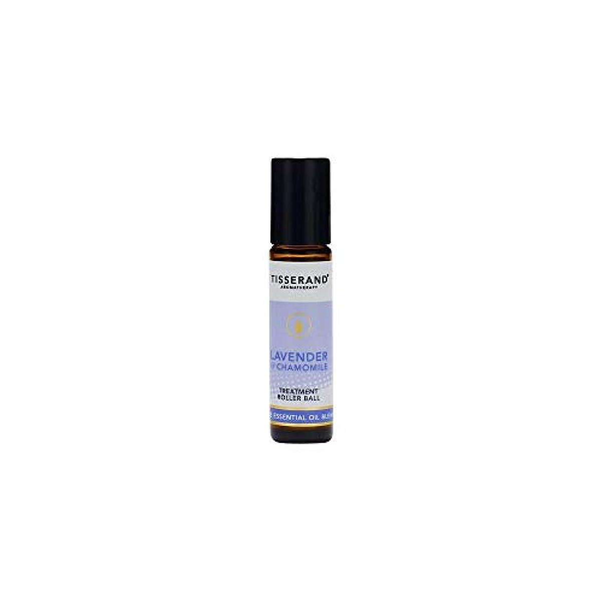 残酷スリップシューズトランクライブラリ[Tisserand] ティスランドアロマラベンダー&カモミール精油ローラーボール10ミリリットル - Tisserand Aromatherapy Lavender & Chamomile Essential Oil...