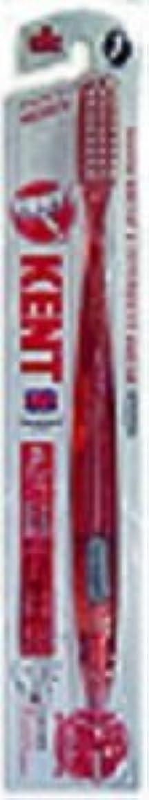 縫う高度な戦闘KENT 歯ブラシ&歯間ブラシ一体型 RED