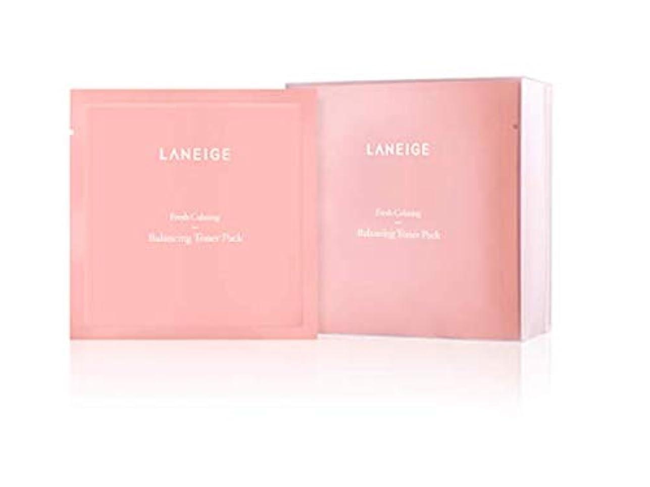スキルしょっぱいドラフト【ラネージュ.Laneige]フレッシュカミングバランシングトナーパック(8ml×20個)+無料プレゼント(写真参照)/ Fresh Calming Balancing Toner Pack(8ml×20ea)+ free gift(in picture)