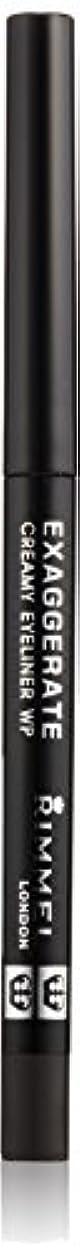 奇跡弁護厚くするリンメル エグザジェレート クリーミィ アイライナー WP 001 ブラック
