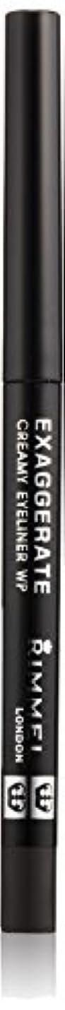 スピンラジエーター人形リンメル エグザジェレート クリーミィ アイライナー WP 001 ブラック
