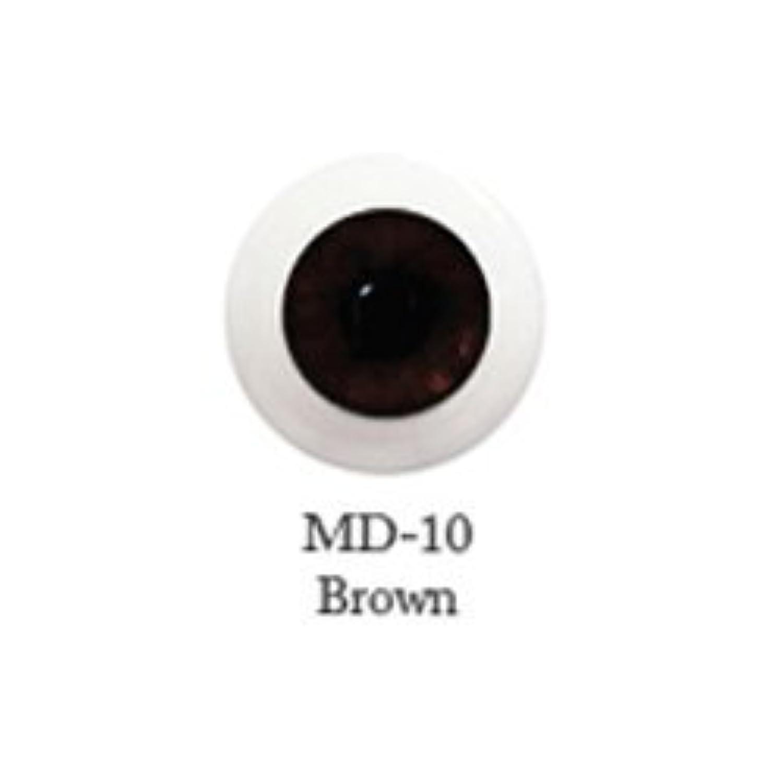 ドール用アクリルアイ ミスティックアイ 16mm 【MD-10ブラウン】(並行輸入品)