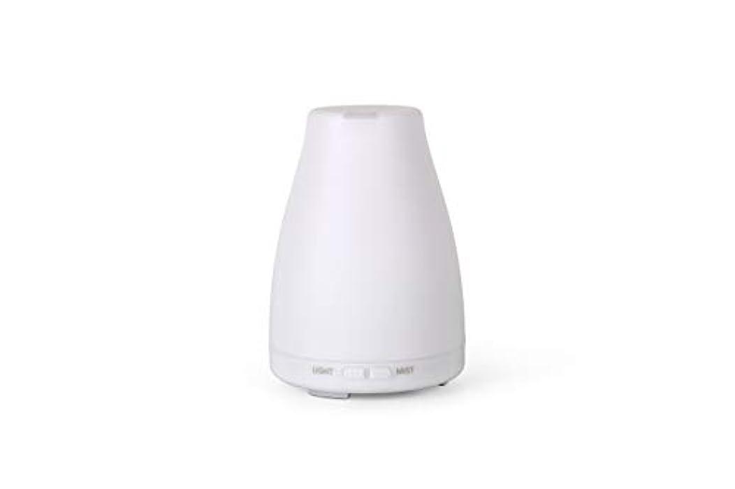 追跡製造業郡アロマディフューザーGA101-W 加湿器 日本語取扱説明書 超音波式 7色LEDライト 空焚き防止