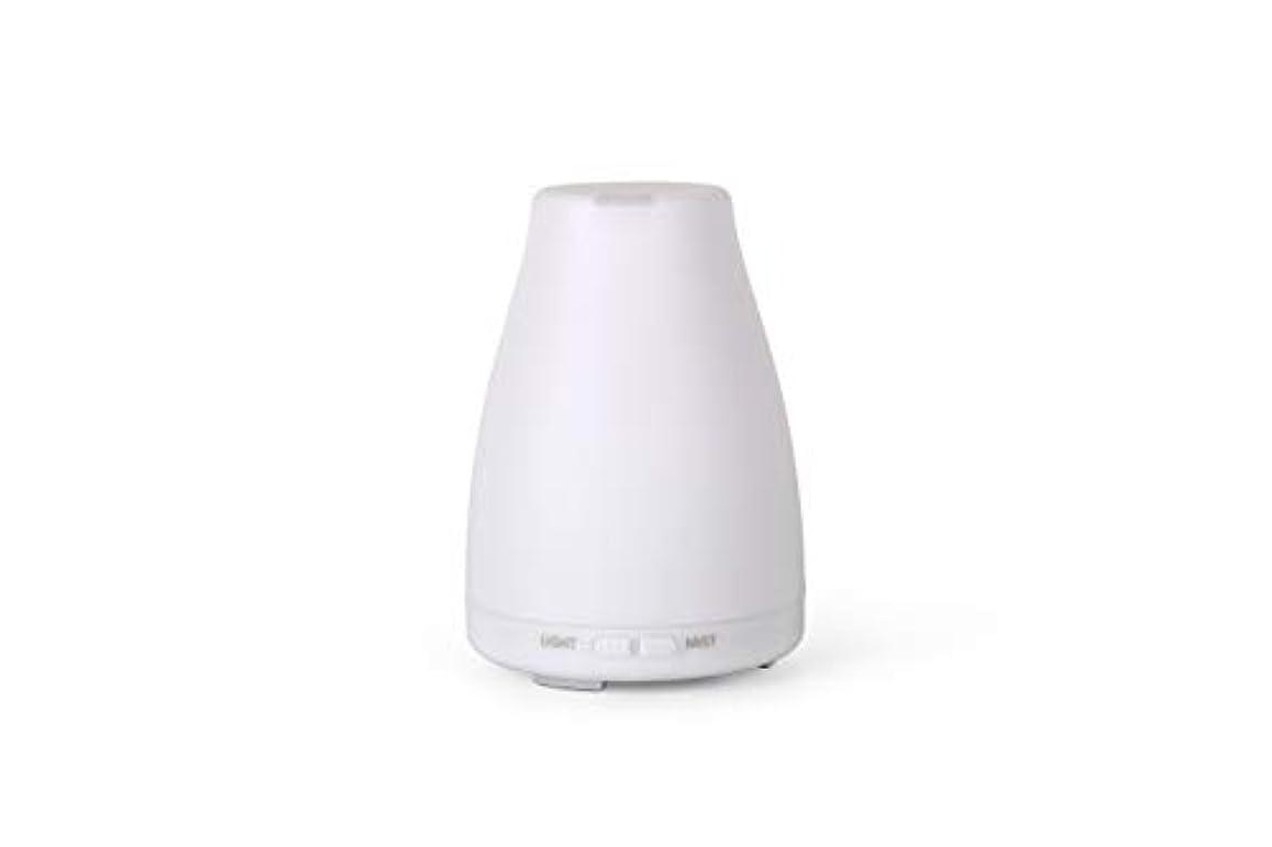 思い出一定対応アロマディフューザーGA101-W 加湿器 日本語取扱説明書 超音波式 7色LEDライト 空焚き防止