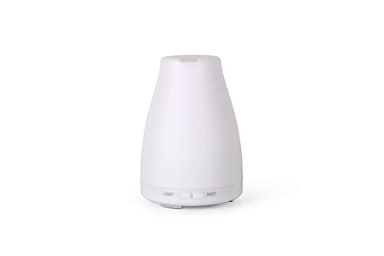 アロマディフューザーGA101-W 加湿器 日本語取扱説明書 超音波式 7色LEDライト 空焚き防止