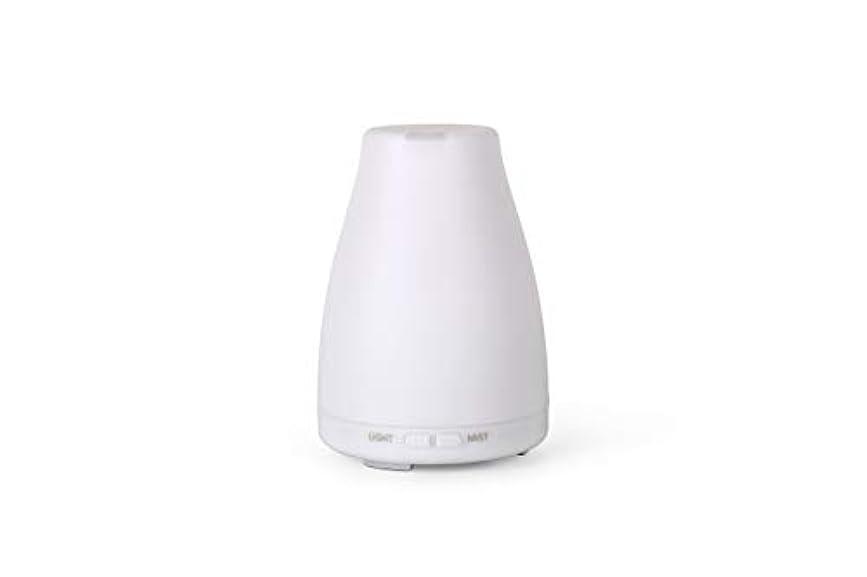 翻訳者緩やかな印象派アロマディフューザーGA101-W 加湿器 日本語取扱説明書 超音波式 7色LEDライト 空焚き防止