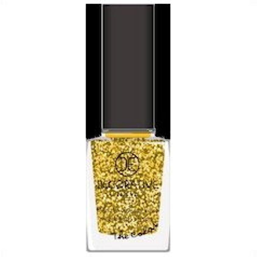 腐食する一口クリープデコラティブネイルカラー GOLD
