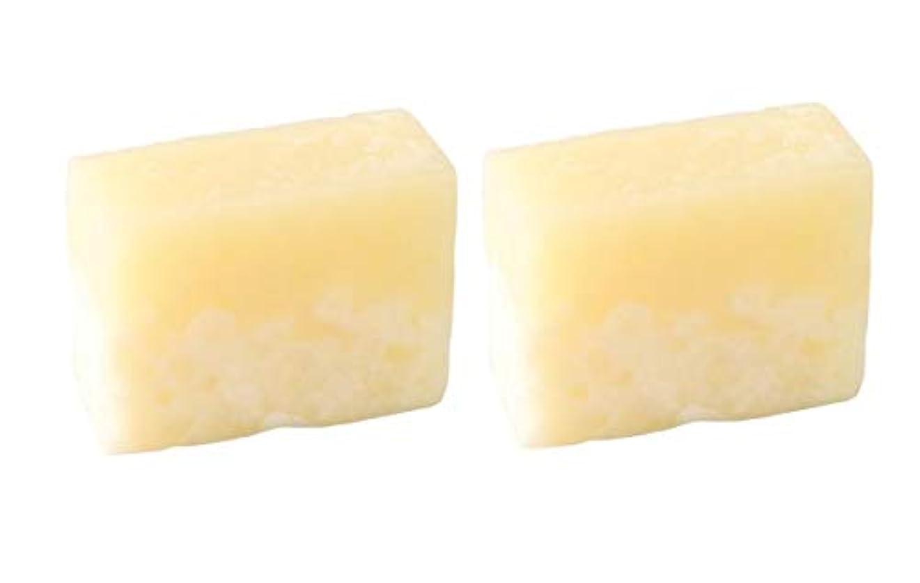 バラ色突然アメリカLUSH ラッシュ ボヘミアン(100g)×2個セット レモンの爽やかな香りソープ