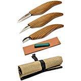 木製彫刻ツールセット - チップ彫刻ナイフキット - ウィットリングナイフセット ウィットリングツール 初心者向け木製彫刻材 画像