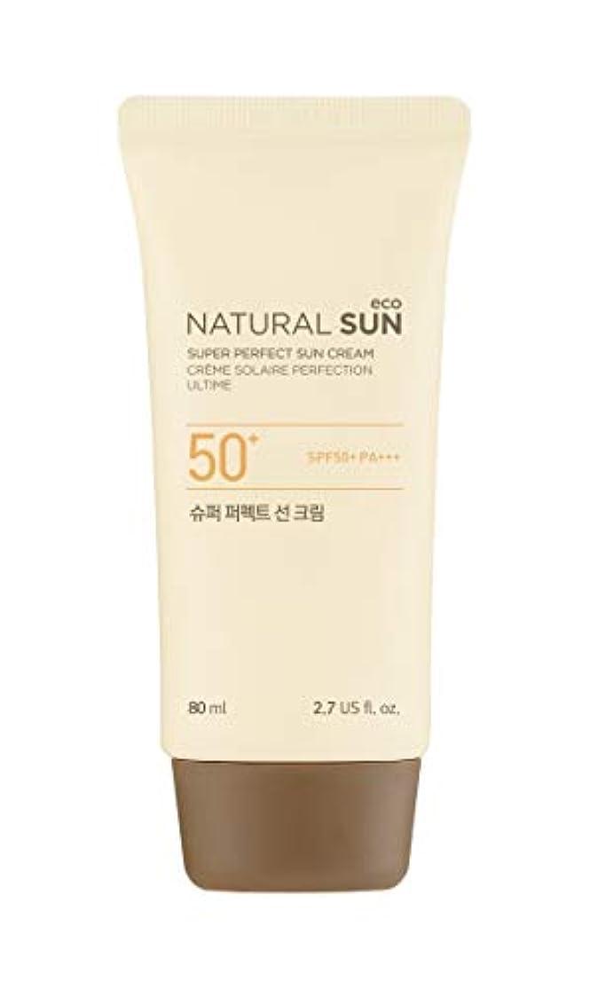 後方葉条件付き[ザ?フェイスショップ] THE FACE SHOP [スーパー パーフェクト サンクリーム  80ml] (NSE Super Perfect Sun Cream SPF50+ PA+++ 80ml) [海外直送品]