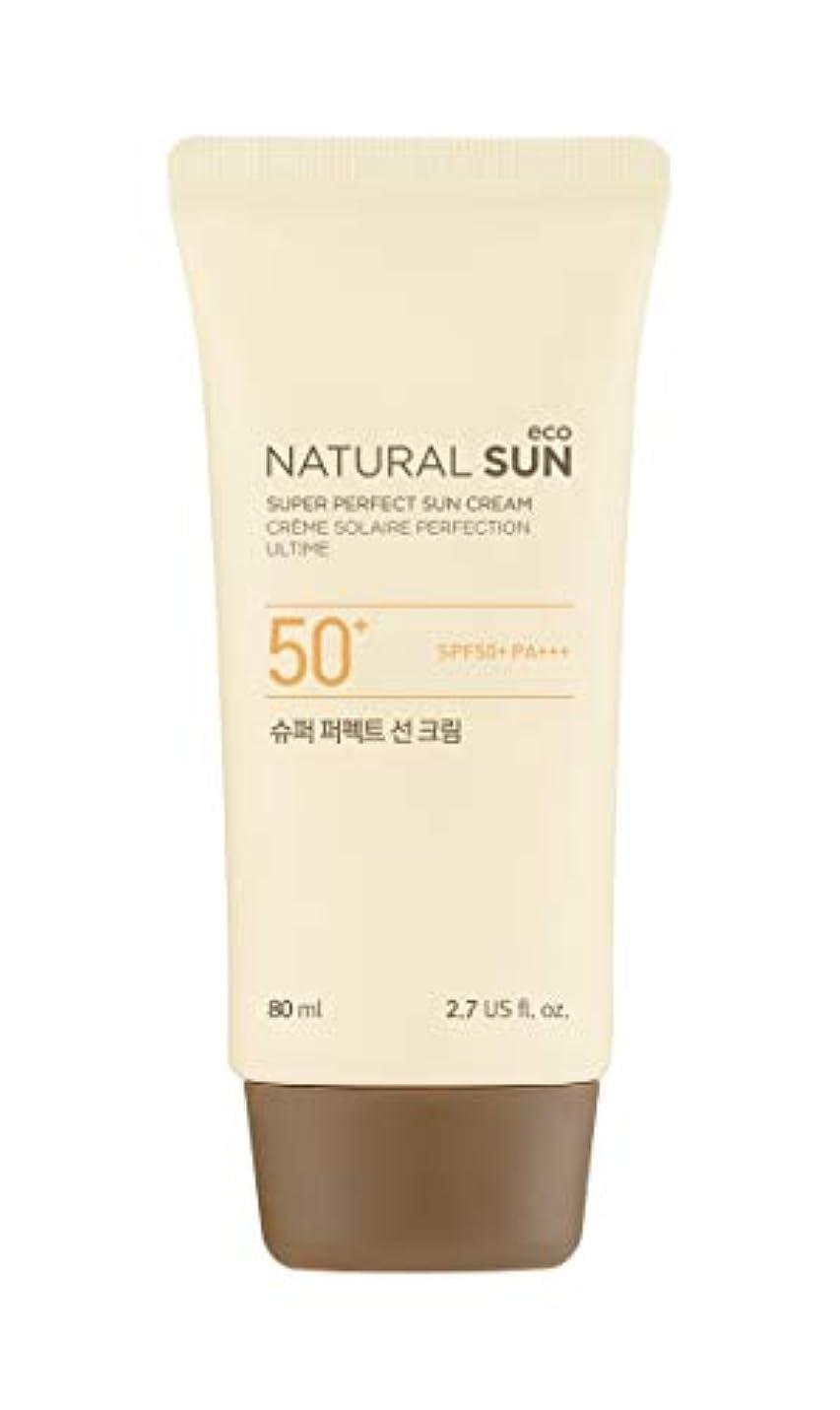 有名人グロー効果的に[ザ?フェイスショップ] THE FACE SHOP [スーパー パーフェクト サンクリーム  80ml] (NSE Super Perfect Sun Cream SPF50+ PA+++ 80ml) [海外直送品]