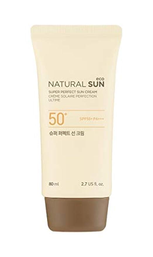 素朴な法廷ライセンス[ザ?フェイスショップ] THE FACE SHOP [スーパー パーフェクト サンクリーム  80ml] (NSE Super Perfect Sun Cream SPF50+ PA+++ 80ml) [海外直送品]