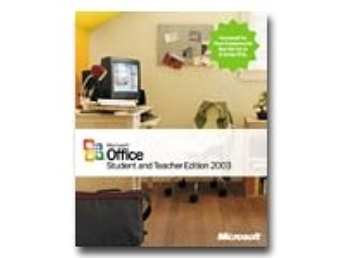 絶縁するより平らな流すMicrosoft Office Student & Teacher Edition 2003 English(英語版)
