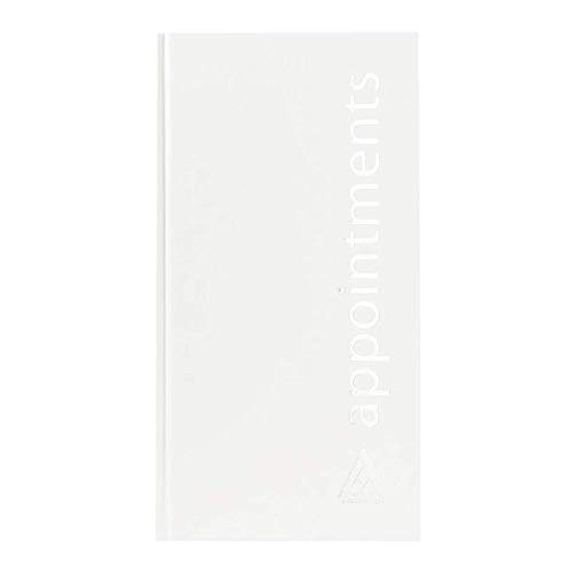 電池小屋ジョージハンブリーアジェンダ サロンコンセプト 美容アポイントメントブック3アシスタントホワイト[海外直送品] [並行輸入品]