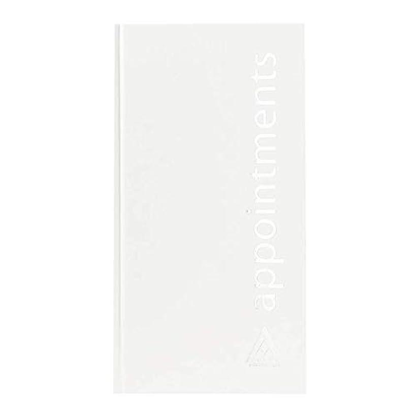 正統派郵便トマトアジェンダ サロンコンセプト 美容アポイントメントブック3アシスタントホワイト[海外直送品] [並行輸入品]