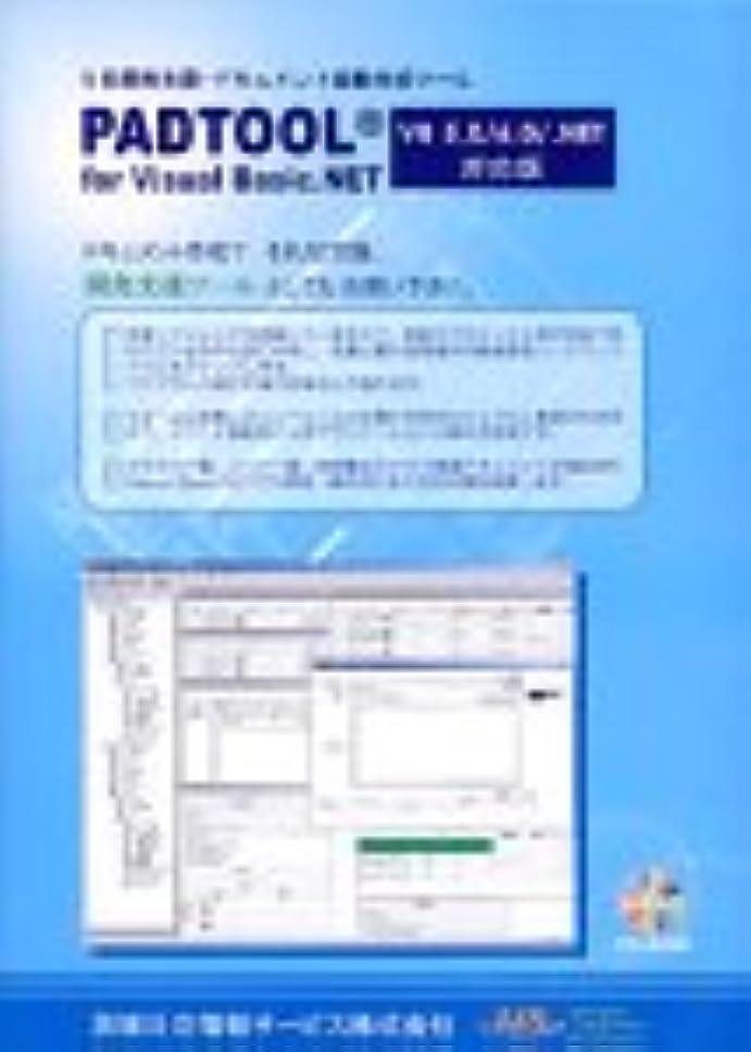 所得滴下そばにPADTOOL for Visual Basic.NET