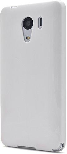 PLATA Y!mobile Android One S2/SoftBank DIGNO G (601KC & 602KC) 京セラ ケース ソフト TPU カバー 【 ホワイト 白 しろ white しろ 】