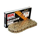RKエキセル スーパーゴールドシリーズ(GS428XW) カラー:ゴールドサイズ:428/シール:XWリング 汎用 対象排気量:250c~400cc(単気筒のみ600ccまで可)