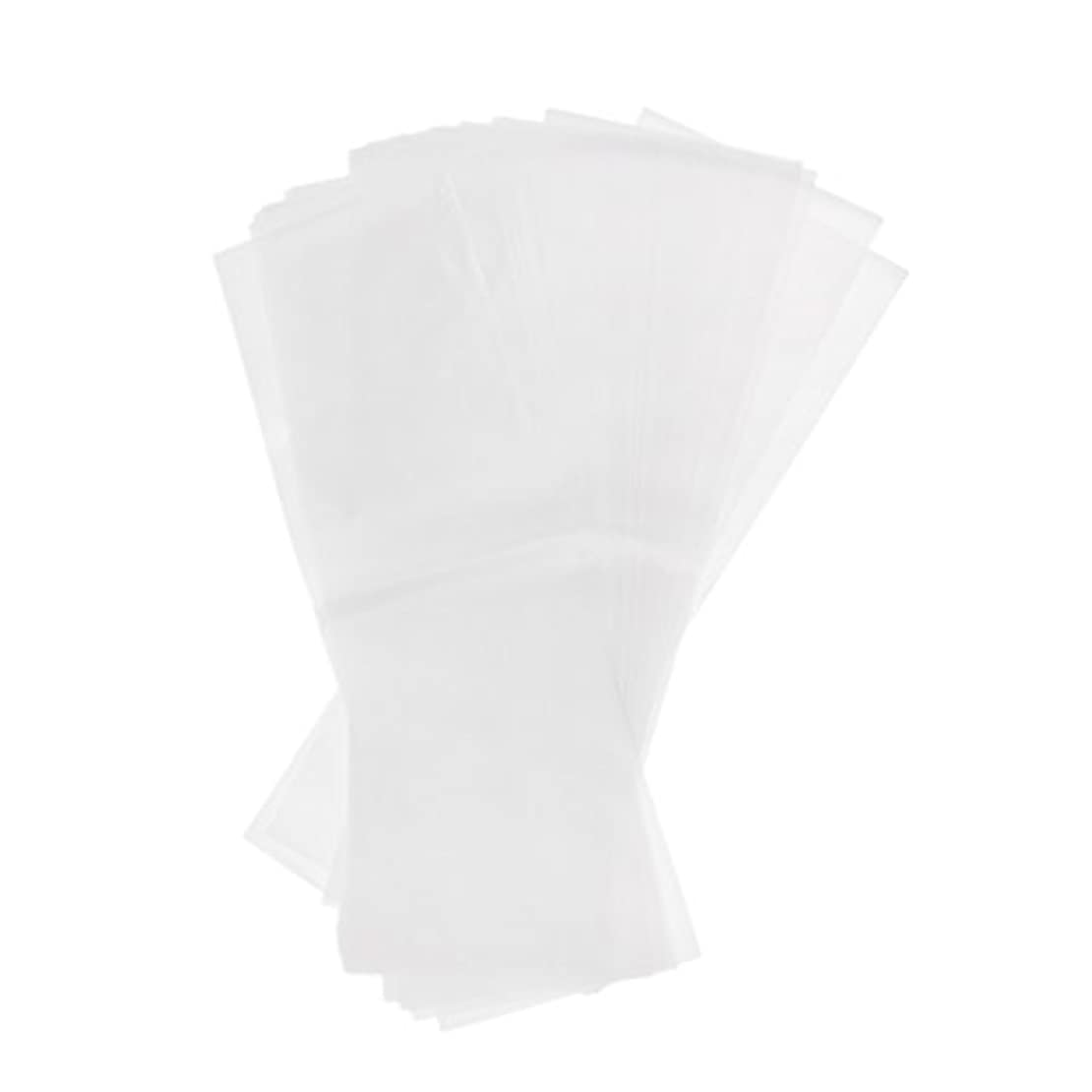 シンク修理工谷Kesoto 約50枚 プラスチック製 染毛紙 ハイライト サロン 毛染め紙 ハイライトシート 再利用可能 2仕様選べ - ホワイト
