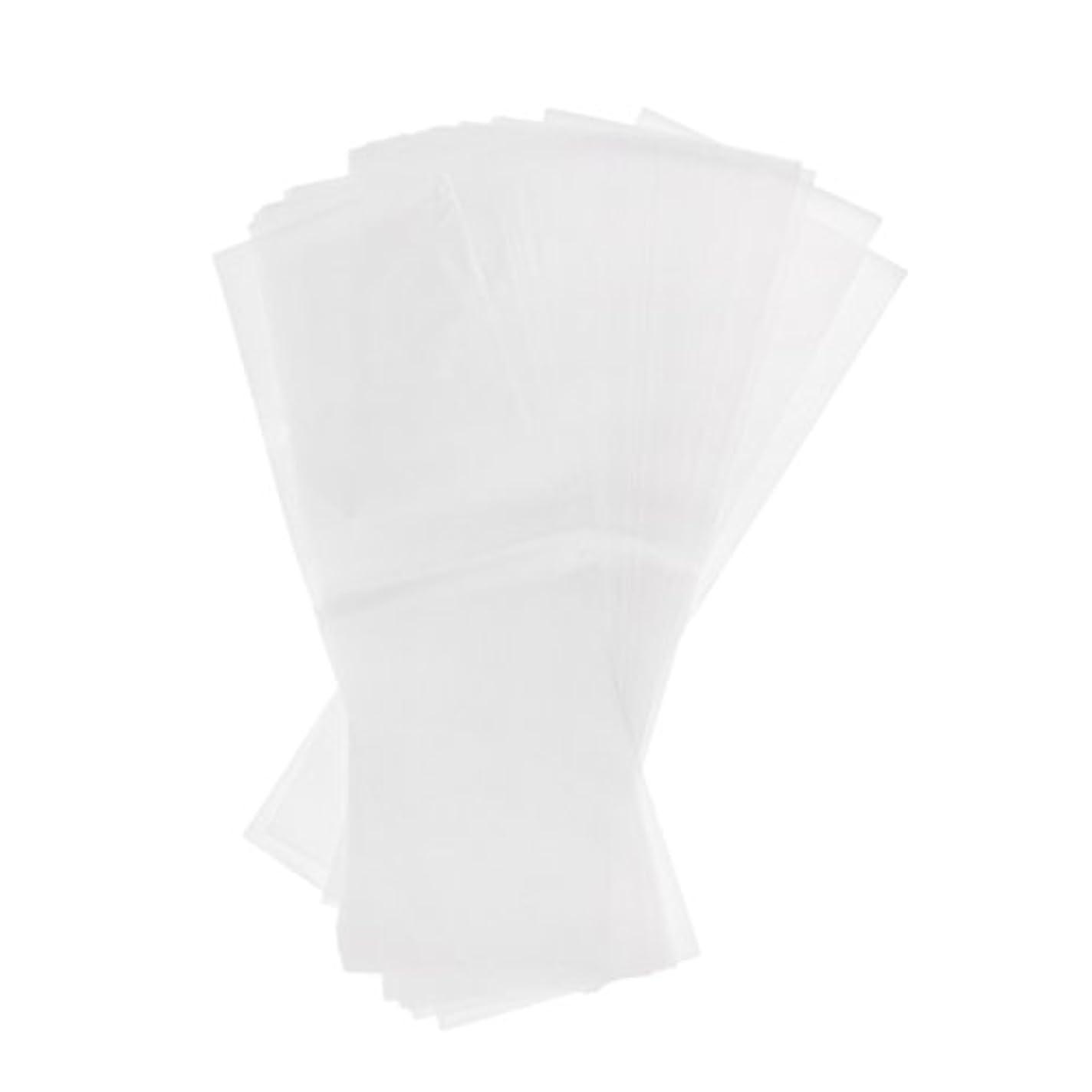 砂魔術領域Kesoto 約50枚 プラスチック製 染毛紙 ハイライト サロン 毛染め紙 ハイライトシート 再利用可能 2仕様選べ - ホワイト