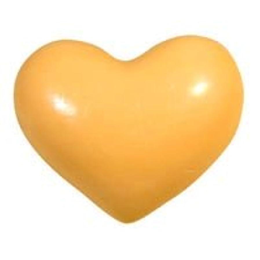 アイドルきれいに回転させるコールド&ホットプロセス ハートソープS「オレンジ」20個セット