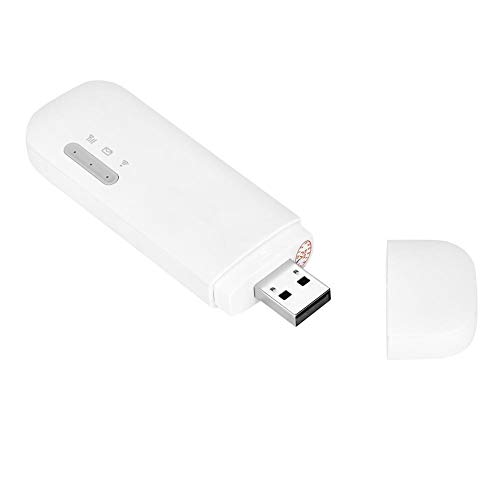 Richer-R 高速4G LTE ポケットWIFI 4G LTE 150Mbps USB WiFiワイヤレスモデム サインランダム WIFI ルーター 超小型モバイル モバイルルーター ホワイト