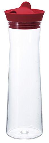 HARIO (ハリオ) ウォータージャグ 1000ml レッド WJ-10-R