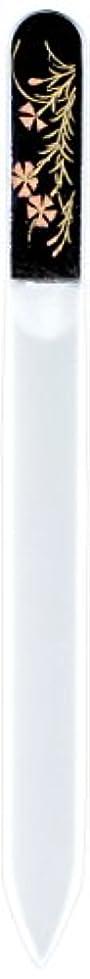 アピール資格鬼ごっこ橋本漆芸 ブラジェク製高級爪ヤスリ 八月 撫子 OPP