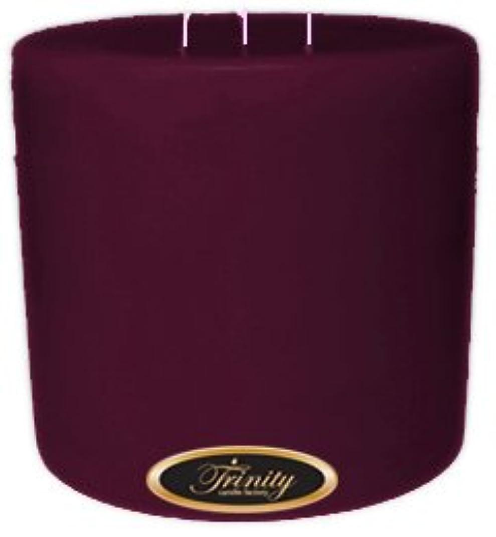 打撃雑種小説Trinity Candle工場 – Wisteria – Pillar Candle – 6 x 6