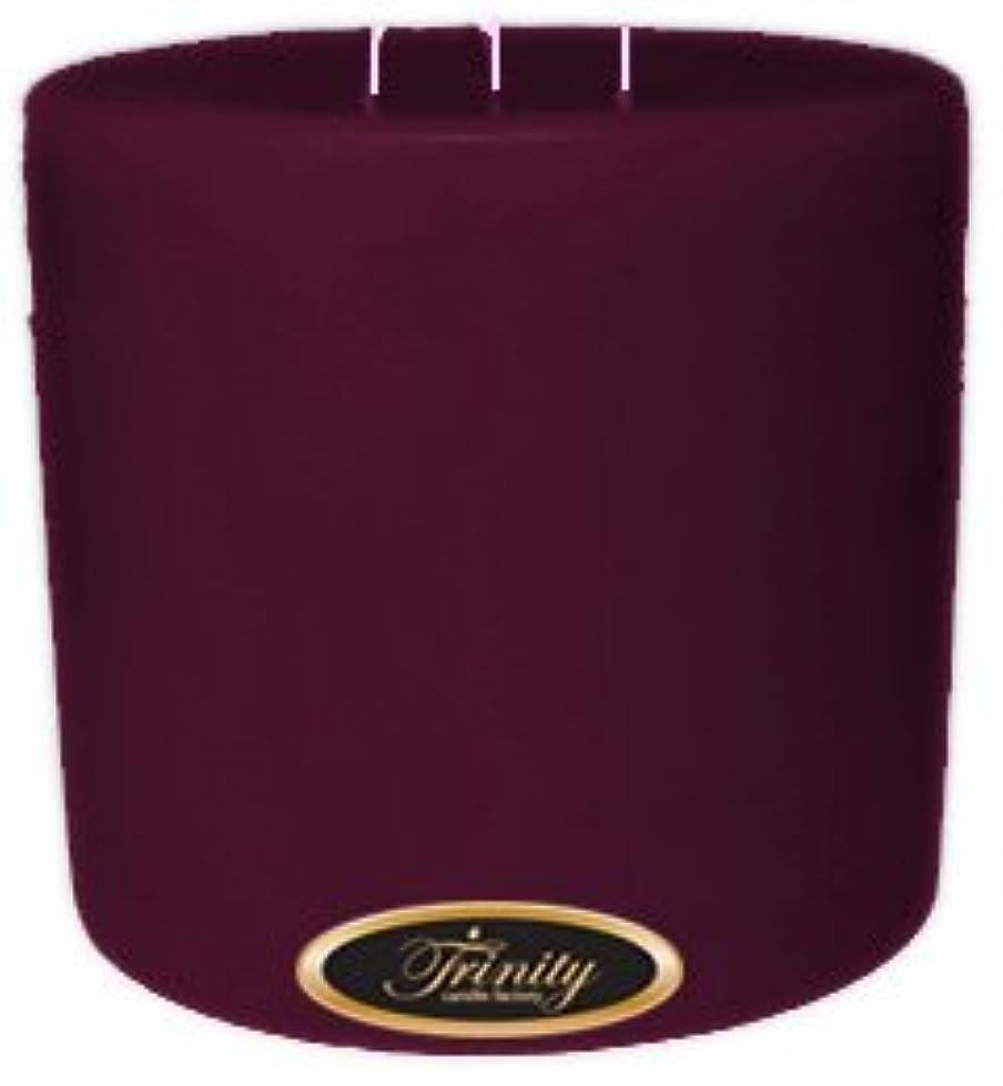 夢中誰か実装するTrinity Candle工場 – Wisteria – Pillar Candle – 6 x 6