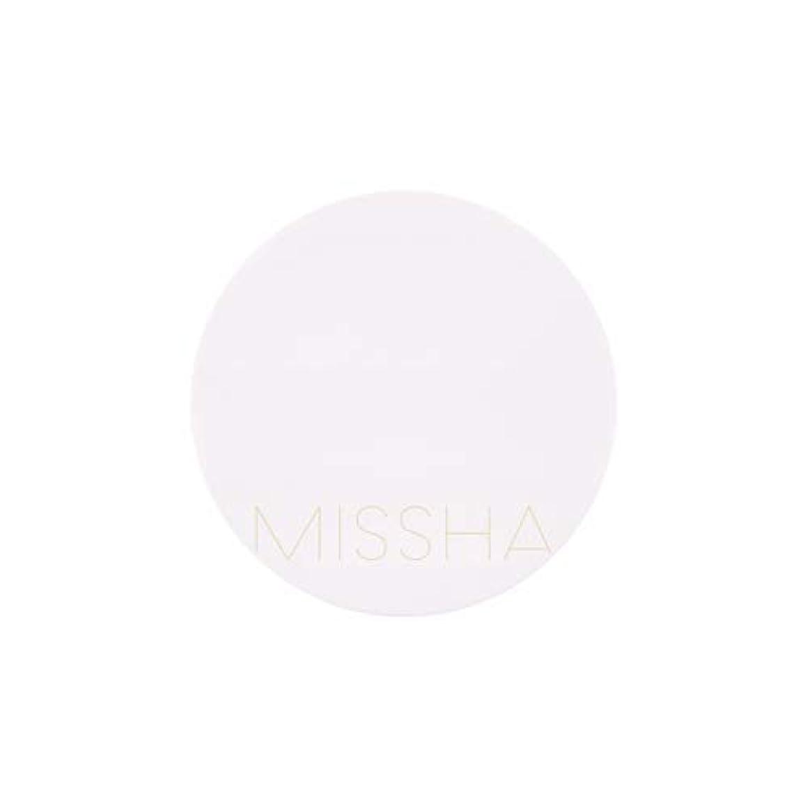 トリッキー野望水族館MISSHA(ミシャ) M MAGIC CUSHION MOISTURE マジック クッションモイスチャーSPF50+/PA+++ (23号)