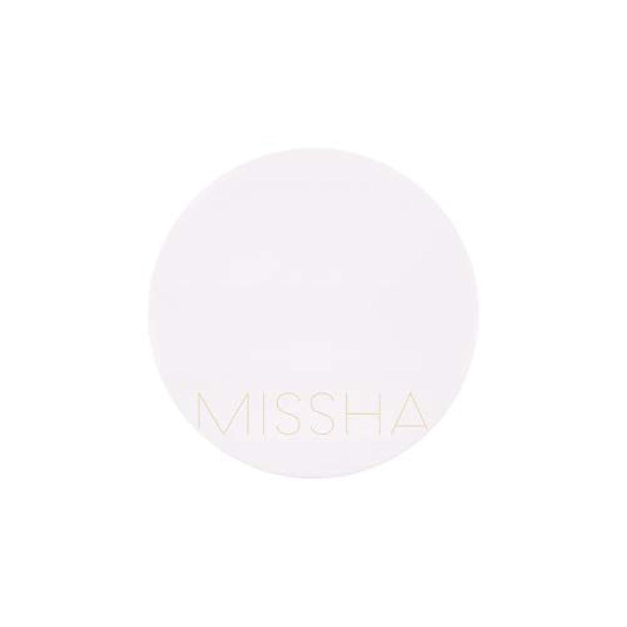 フローティングモザイク写真を描くMISSHA(ミシャ) M MAGIC CUSHION MOISTURE マジック クッションモイスチャーSPF50+/PA+++ (23号)