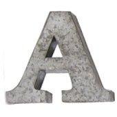 アルファベット オブジェ 大文字 (A(01))