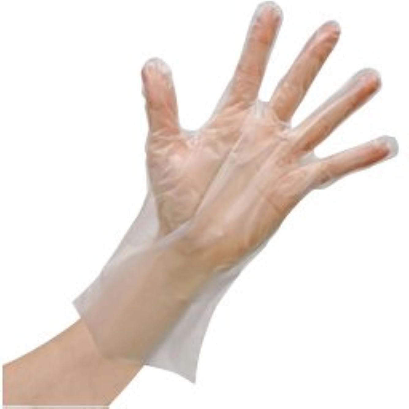 使いきりLDポリエチレン手袋(箱) FR-5812(M)100???? ?????LD????????(??)(24-6743-01)【ファーストレイト】[60箱単位]