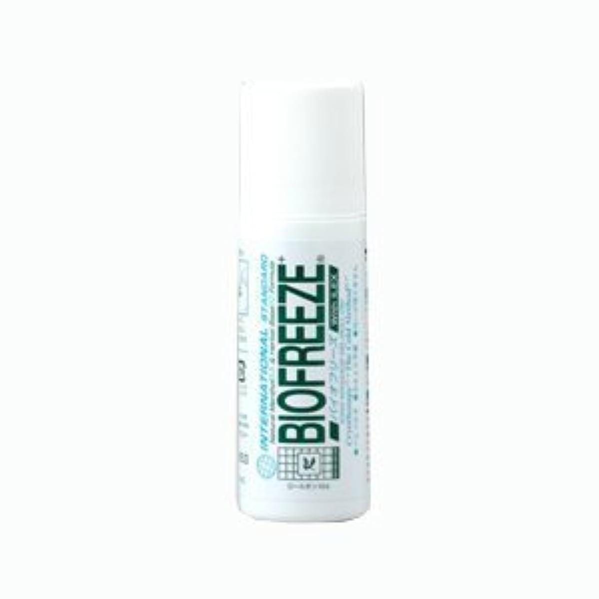 クラッシュ興奮可動式バイオフリーズ(BIOFREEZE) ロールオン 82g - ボディ用、ロールタイプ!