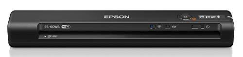 エプソン スキャナー ES-60WB (モバイル/A4/USB対応/Wi-Fi対応/ブラック)