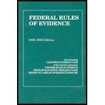Download Federal Rules of Evidence: 2005 - 2006 0314161902