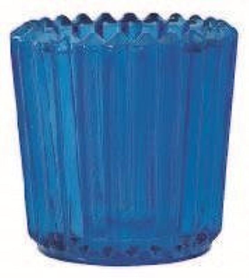 スピン日付付き思われるkameyama candle(カメヤマキャンドル) ソレイユ 「 ブルー 」(J5120000BL)