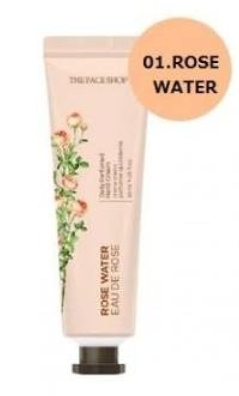 歴史的ユニークなポケットTHE FACE SHOP Daily Perfume Hand Cream [01.Rose Water] ザフェイスショップ デイリーパフュームハンドクリーム [01.ローズウォーター] [new] [並行輸入品]